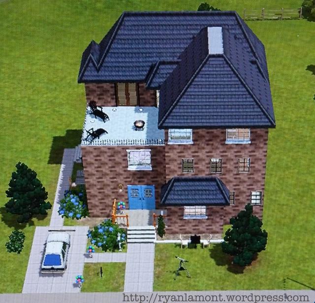 Sims 3 house design