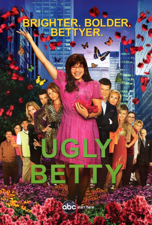Today I've watched a few episodes of Ugly Betty,