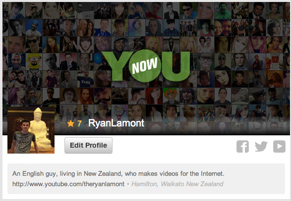 YouNow Ryan Lamont