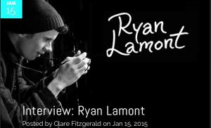 cultnoise magazine ryan lamont